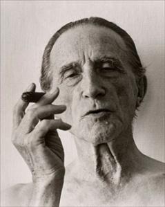 Inventarienr: FM 1990 010 027                             Konstnärens namn: Christer Strömholm  Titel: Marcel Duchamp  Datum: 1961/ca 1990