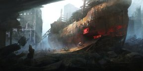 post_apocalyptic_bikers_base_by_peteamachree