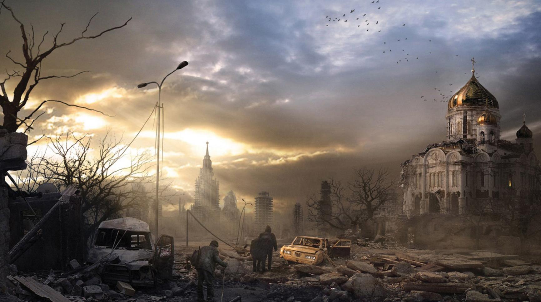 Préfèreriez-vous mourir plutôt que de survivre à une guerre nucléaire ? Nuclear-war-effect-city-wallpaper