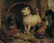 Sir Edwin Landseer, Alexander and Diogenes, 1848.