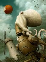 cf8f271d6aa2daded1b4edca1f2bf267--robot-art-tentacle