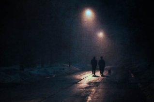 Dog-walkers-in-the-dark-459478