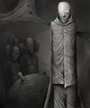 Photoshop-horror-painting-by-the-digital-master-of-the-macabre-Anton-Semenov-alien-zombies-silently-watching-you